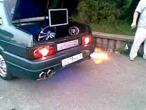 Неудачный тюнинг Lada 2115. Смотреть до конца!