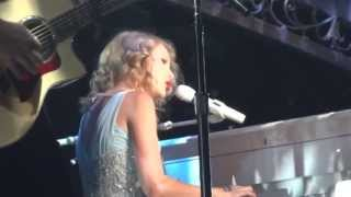 Taylor Swift - Back to December (Live in Los Angeles 8-27-11)