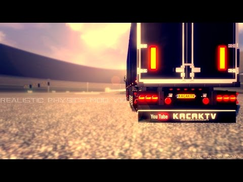Euro Truck Simulator 2   Realistic Physics Mod v10.0   Official Version!   Updated for 1.12.1+