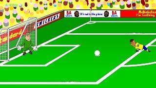 🇧🇷BRAZIL vs CROATIA 3-1🇧🇷 by 442oons (World Cup 2014 Cartoon 12.6.14)
