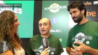 Pd entrevista a Pepe Viyuela y Rubén Cortada - 'Olmos y Robles' - Festval 2015