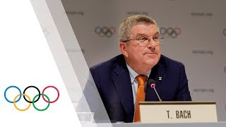 Press Conference with IOC President Thomas Bach