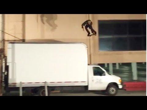 INSTABLAST! - Clive Dixon My War NEW EL TORO Rail, Cop VS Skateboarder!? Jaws Ollie, Grant Kickflip