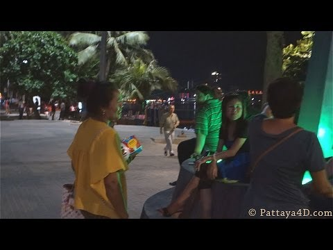 Pattaya 2014 Beach Road Nightlife Mid-march Many Girls No Customer video