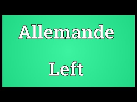 Header of Allemande Left