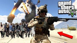 GTA 5 ZOMBIE MOD: ZOMBIES VS Apocalypse Meteor Shower Mod! (GTA 5 Mods)