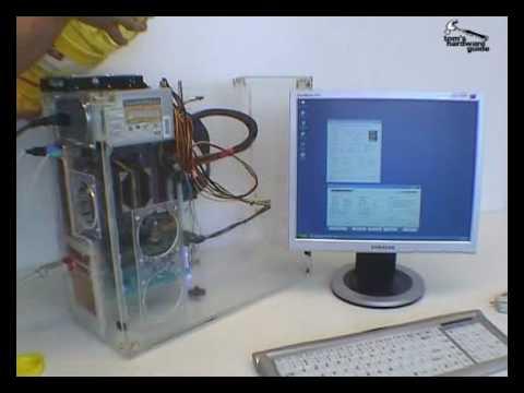 Компьютер в масле - Видео