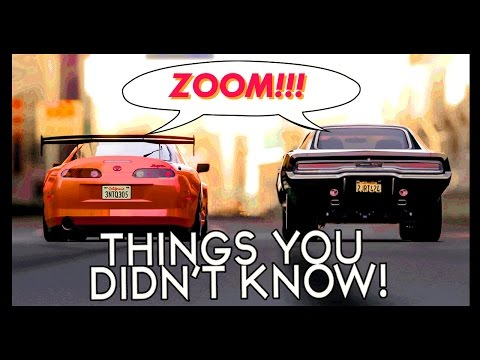 7 Things You (Probably) Didn't Know About The Fast & Furious