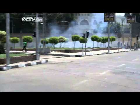 Egypt Blast Caught on Camera: 2 Police Officers Killed