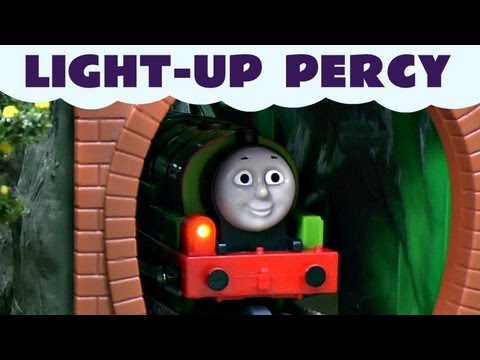 Light-Up Percy Trackmaster Thomas The Train Kids Toy Train set Thomas The Tank Engine
