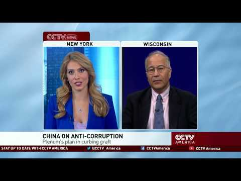 Commentator Einar Tangen discusses China's fight against political corruption