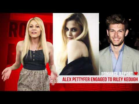 Alex Pettyfer Alex Pettyfer Engaged to Riley