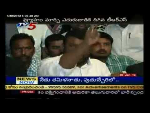 KCR VS CM Kiran kumar Reddy -TV5.