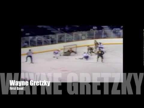 Wayne Gretzky's First NHL Goal/Facts