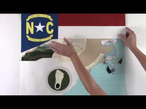 The Old North State (North Carolina) - #50StatesAlbum - #Paperslide Music Video