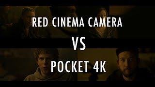 Blackmagic Pocket 4k VS Hollywood Movie Camera | Red Dragon