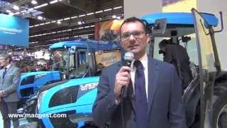 #SIMA_paris Nuova gamma trattori Landini Rex