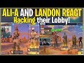 Hacking Ali-A and Landon's Fortnite lobby's *THEIR REACTIONS*   (Fortnite Battle Royale)