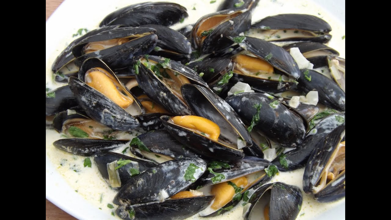 how to tell if mussels are cooked