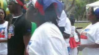 Haitian Americans Celebrate Flag Day In Brevard County Florida