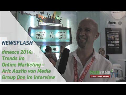 dmexco 2014: Trends im Online Marketing - Aric Austin von Media Group One im Interview