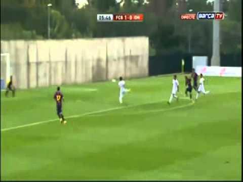 Alen Halilovic skill Barça B vs Indonesia