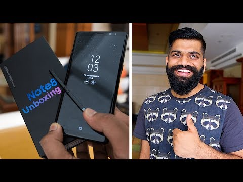 Samsung Galaxy Note 8 Unboxing and First Look 🔥 - Indian Unit thumbnail