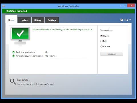 Como ativar o windows defender PELO CMD Funcionando 2015