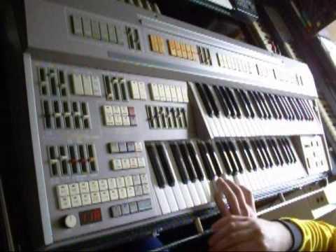 Organ demo 4/5 - Elka X-30