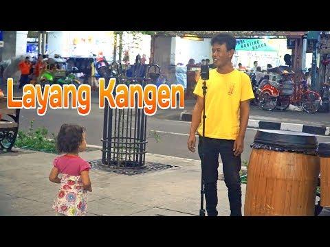 LAYANG KANGEN - Edisi Vokalis Dadakan CAREHAL Angklung Malioboro Jogja (Didi Kempot)