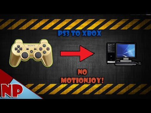 (Easy)How to Connect PS3 Controller to PC (No MotioninJoy!)