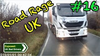 UK Bad Drivers, Road Rage, Crash Compilation #16 [2015]