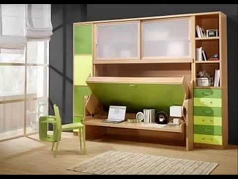 Camas abatibles youtube for Sofa cama para habitacion juvenil