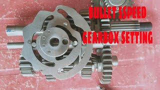 Royal Enfield 5 speed model complete gearbox setting