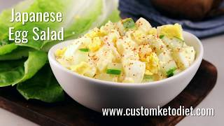 Custom Keto Diet Plan | Recipe videos | Set9 | Japanese Egg Salad