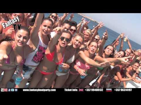 FANTASY BOAT PARTY AYIA NAPA CYPRUS MONDAY 22ND JULY 2013 (12:00-17:00)