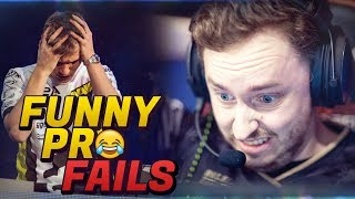CS:GO - MOST FUNNIEST PRO FAILS IN 2017 YET!