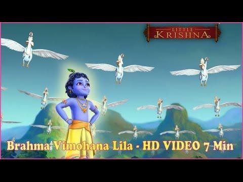 Little Krishna   Brahma Vimohana Lila   Clip   Hindi