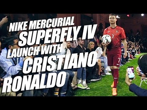 Nike Mercurial Superfly IV 2014 Launch with Cristiano Ronaldo