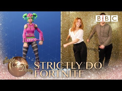 Strictly takes on the Fortnite Dance Challenge - BBC Strictly 2018