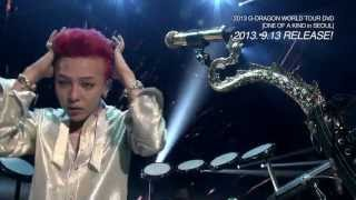G-DRAGON 2013 WORLD TOUR DVD [ONE OF A KIND in SEOUL] - Release spot