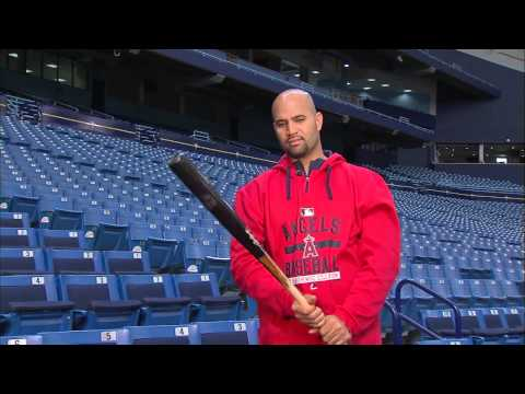 Learn an MLB swing with Angels slugger Albert Pujols