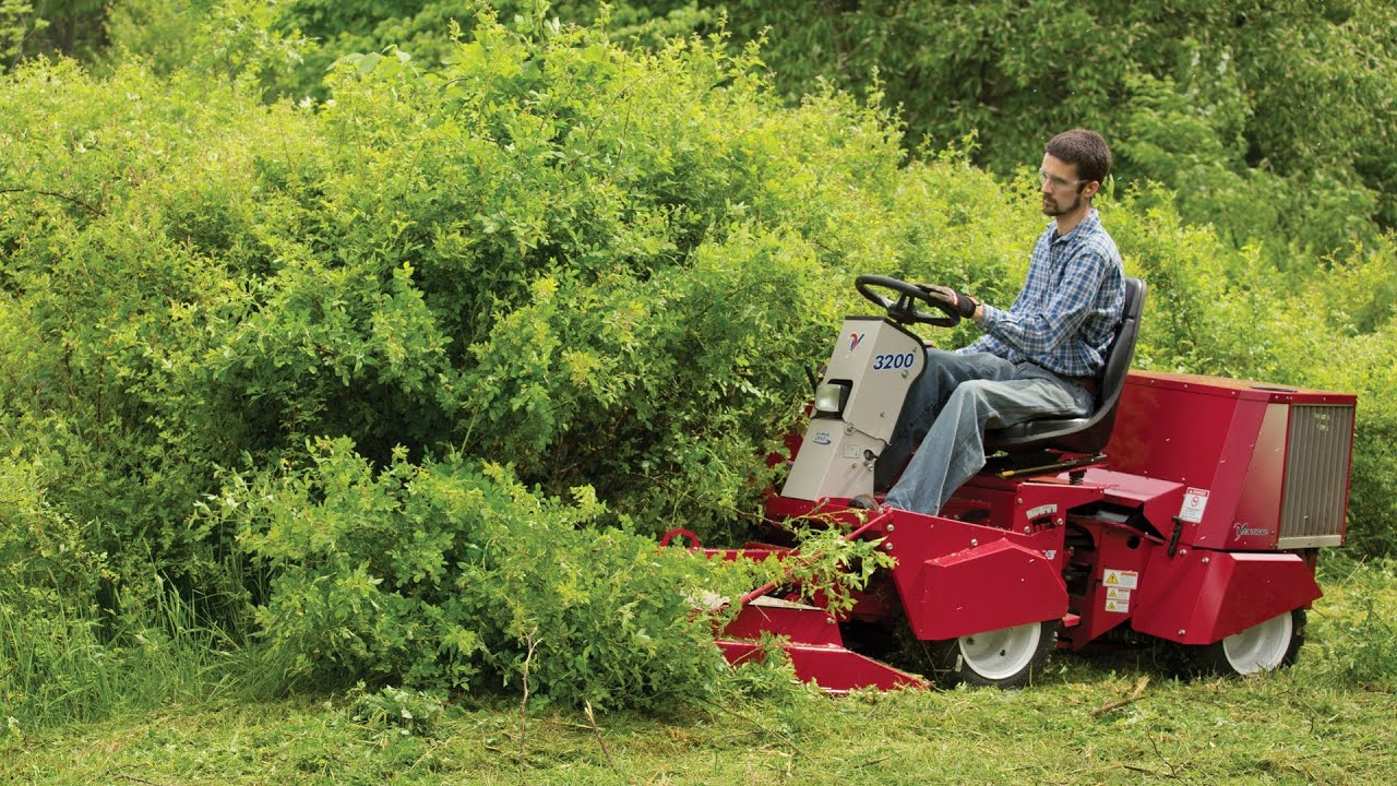 Clearing Massive Thorn Bushes With Ventrac Field Mower