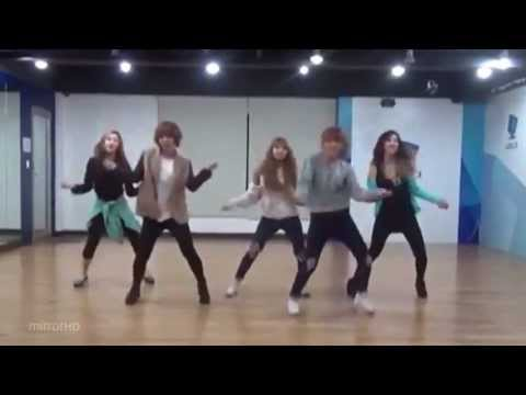 4minute 'What's Your Name?' mirrored Dance Practice