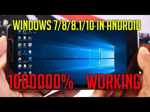 Install and RUN WINDOWS 10/8/7/XP/95 on ANDROID - NO ROOT 2017 (Step-by-Step Guide) - IZA Terminal