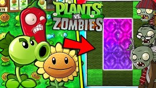 HOW TO MAKE A PORTAL TO THE PLANTS VS ZOMBIES DIMENSION - MINECRAFT PVZ