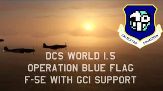 DCS World - F-5E with GCI Support