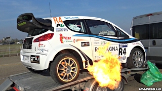 TURBO Mitsubishi Colt Proto with Lancer EVO Engine!! - FLAMES & SOUNDS!
