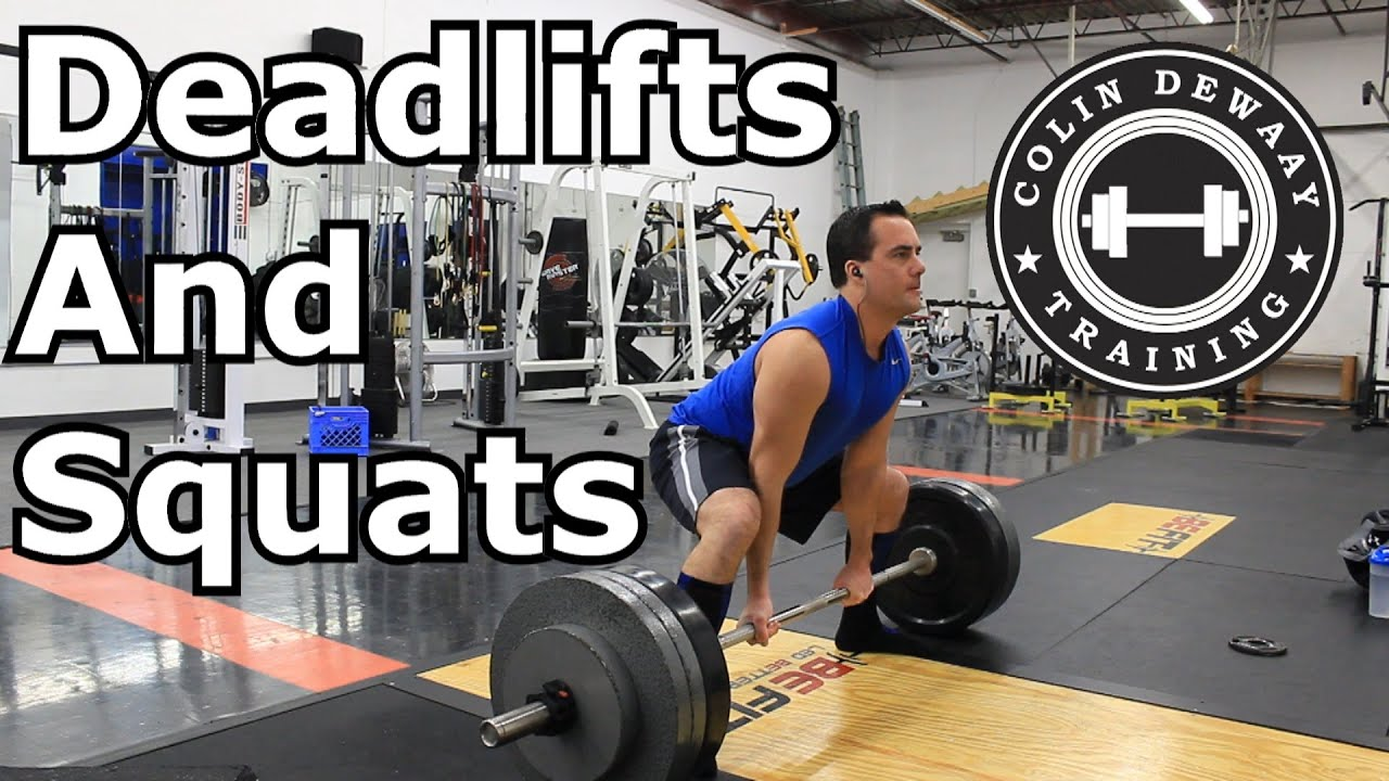 Squats Before Deadlifts Sumo Deadlifts Squats And
