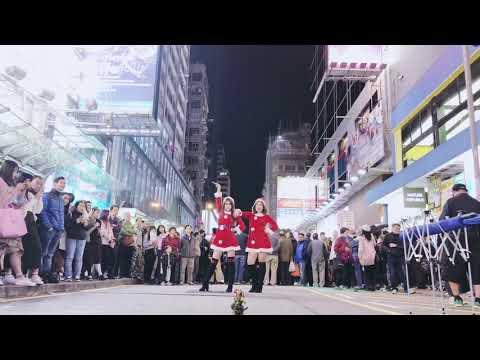 MEAN GIRLS - JINGLE BELL ROCK | XMAS PUBLIC DANCE BUSKING SPECIAL